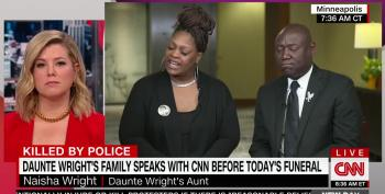 Daunte Wright's Aunt's Passionate Plea To Police