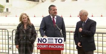 Ted Cruz Makes A Joke: 'You Didn't See Us Try To Pack The Court'