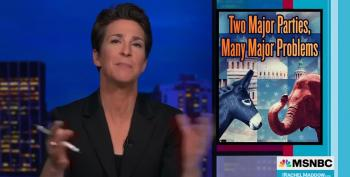 Rachel Maddow's Face As GOP Promotes Panty Hose For Big Oil