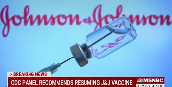 CDC: Johnson & Johnson Vaccines Should Resume