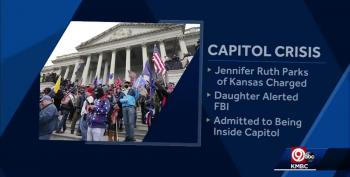 Kansas Woman Charged In Connection With US Capitol Riot