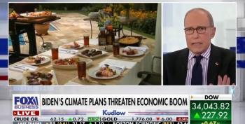 Larry Kudlow: Biden Will Force Us To Drink 'Plant Based Beer'