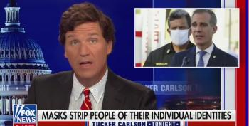 Tucker Urges Unhinged Followers To Call Cops When They See Kids Wearing Masks