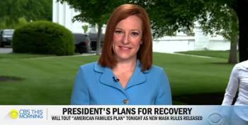 Jen Psaki Talks About Joe Biden's American Families Plan