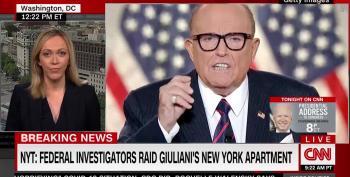 BREAKING NEWS:  Feds Raid Rudy Giuliani's Apartment