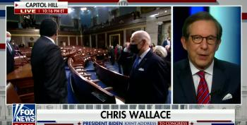 Fox's Chris Wallace Approves Of Biden's 'Government Is Here To Help You' Message