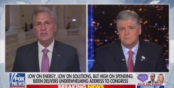 Kevin McCarthy Still Regurgitating The Biden Burger Ban BS