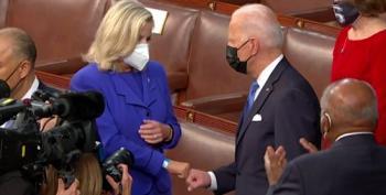 Cheney On Fist Bump With Biden: 'We're Not Sworn Enemies'