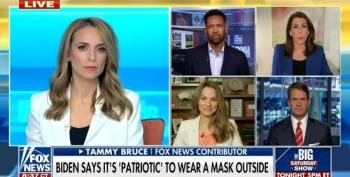 Tammy Bruce Conflates Mask Mandates With Women Being Forced To Wear Burkas