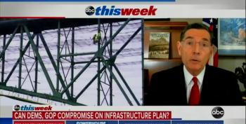 Sen. Barrasso Promotes GOP Infrastructure Spending Lie On The America Jobs Plan