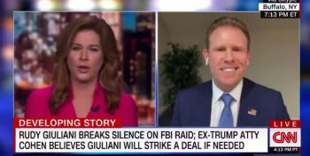 Andrew Giuliani Seems Super Nervous