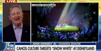 Sen. Kennedy Is Sure Dems Hate Disney's New Snow White Ride