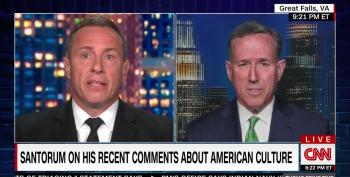 Cuomo Calls Santorum Out Over Native American Remarks
