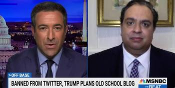 Traitor Trump Launches A Blog