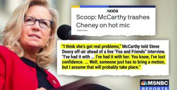 Axios: Kevin McCarthy Caught Criticizing Liz Cheney On Hot Mic