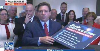 Florida's DeSantis Signs Voter Suppression Bill