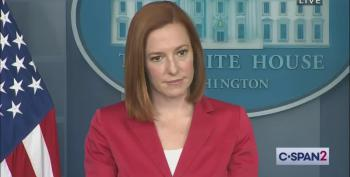 Jen Psaki Demonstrates Perfect Whack-A-Troll Technique