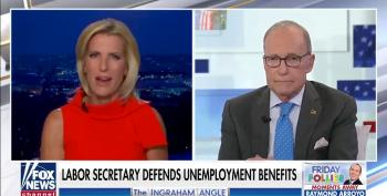 Fox News Edits Out Larry Kudlow's Support Of Biden's Jobs Report