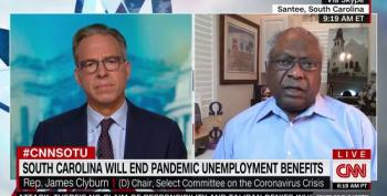 Rep. Clyburn Dismisses Notion That People Aren't Returning To Work Due To UE Benefits