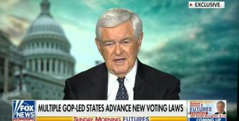 Gingrich Still Pushing The Big Lie, Slams Mail-In Voting