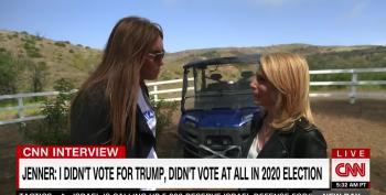 Caitlyn Jenner Tells Dana Bash She Played Golf Instead Of Voting In 2020