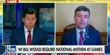 WI Rep. Kurtz Defends Mandating National Anthem