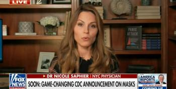 Fox Doctor Disinfo: Tells Unvaccinated 'You Can Stop Wearing Masks'