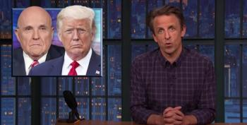 Seth Meyers: Trump Is Hanging Rudy Out To Dry