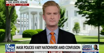 Fox News Claims Pres. Biden Wearing A Mask Is Confusing
