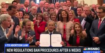 Texas Enacts One Of Country's Most Restrictive Abortion Bans