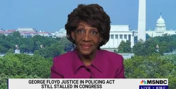 Rep.Waters Wants Dems To 'Fight Like Hell' For Qualified Immunity