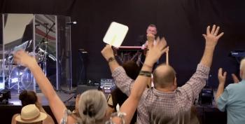 Winger Pastor Preaches Anti-Vax Lie: They're 'Shooting Up Sugar Water'