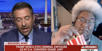 Elie Mystal Munches Popcorn, Anticipates Trump Organization Indictments