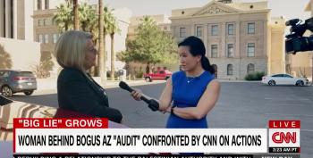 AZ Official Insists On Voter Fraud Lies With CNN Reporter