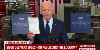 """'Shameless!"""" Joe Biden Pokes Fun At GOPers Touting Aid They Voted Against"""