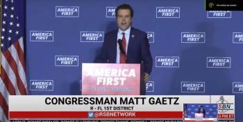 Matt Gaetz Threatens Violence Against Social Media Companies
