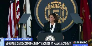 VP Harris Delivers Naval Academy Commencement Speech