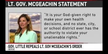 Idaho Governor Rescinds Anti-Mask Mandate