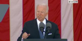 Biden: Memorial Day Means Honoring The Fight For Democracy