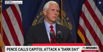 Mike Pence Uses Passive Voice About Jan 6 Violence