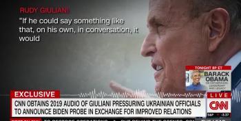 LISTEN: New Giuliani Tape Exposes Trump's Desperation