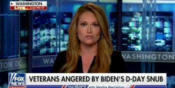 Fox News Fauxtrage Over D-Day Tweet 'Snub'