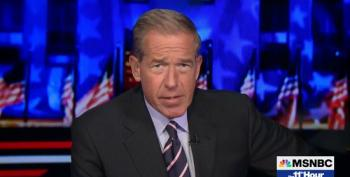 Brian Williams: 'Trump's Pants Could Accomodate A Family Of Four'