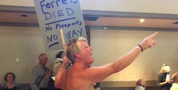 Anti-Vax Protestors Tee Up Town Hall Disruptions