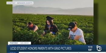 UC San Diego Student Honors Her Parents With Special Grad Photos