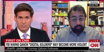 Former Follower Reminds John Berman: Qanon Is Already Violent