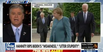 Hannity Attacks Biden Before Summit