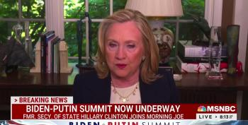 Hillary Clinton Talks About Biden's Meeting With Putin