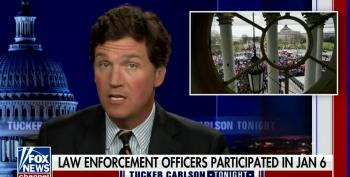 Tucker Carlson's Ultimate Whitewash: FBI Did Insurrection On Jan 6