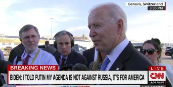 Biden Hammers Home Danger To Democracy At Home And Abroad